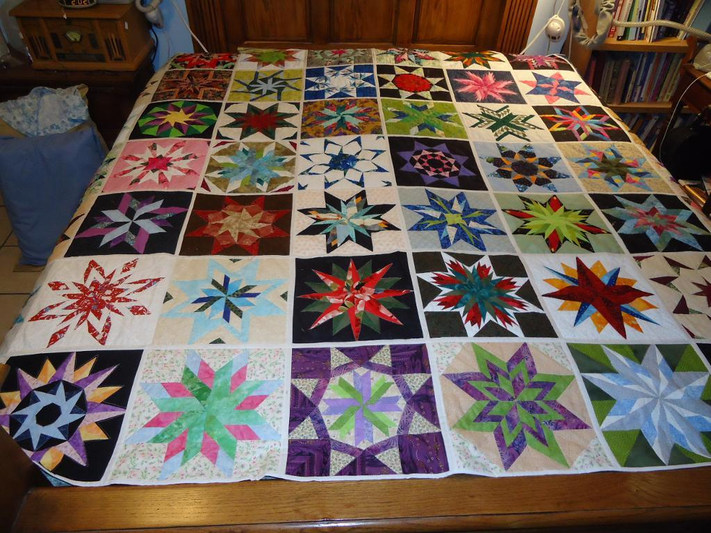 Image of: Paper Pieced Quilt Patterns Popular