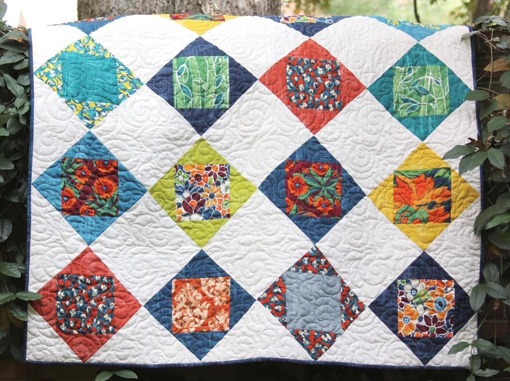 Image of: Patchwork Quilt Patterns Ideas