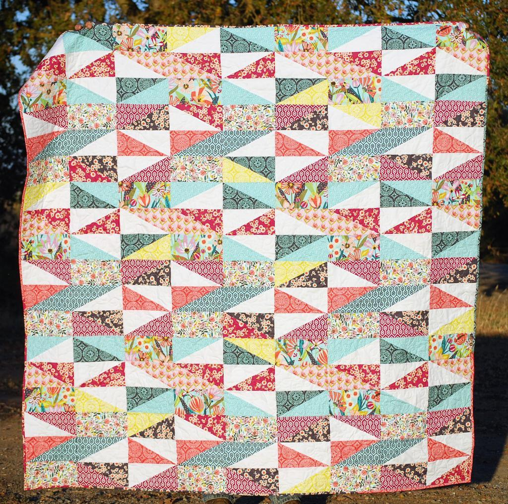 Image of: Patchwork Quilt Patternsfor Beginners