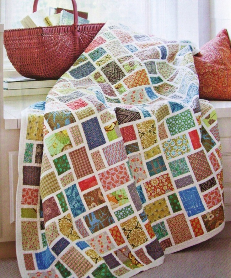 Picture of: Patchwork Scrappy Quilt Patterns