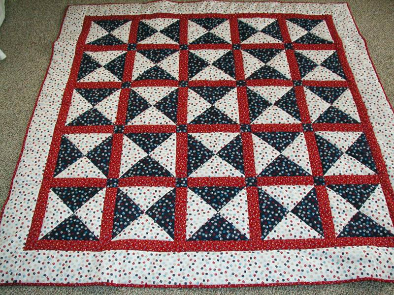 Image of: Patriotic Quilt Patterns for Frank