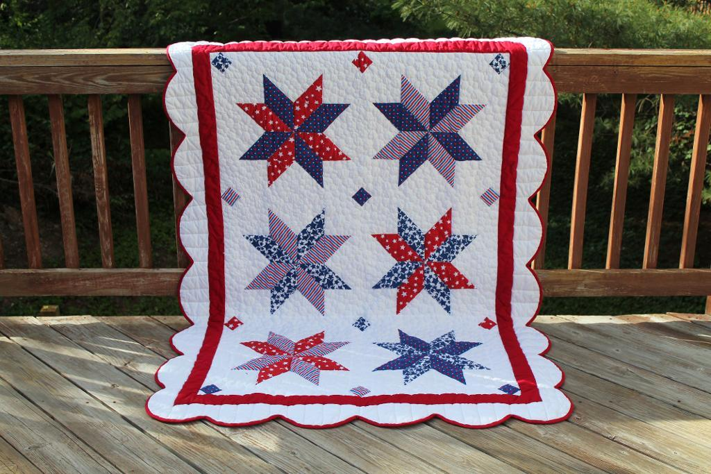 Image of: Perfectly Patriotic Quilt Patterns