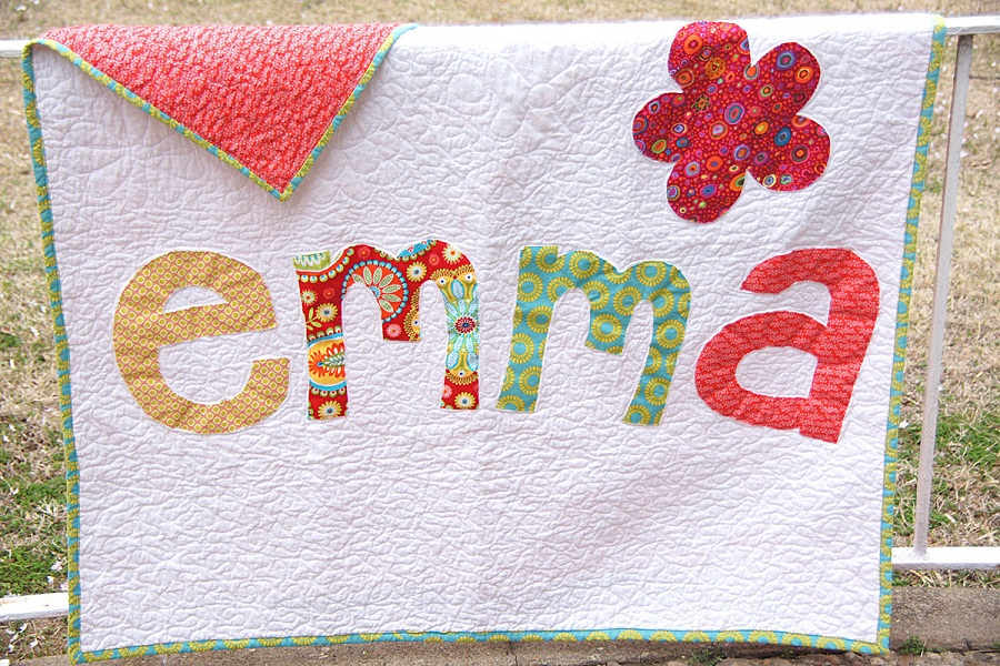 Picture of: Personalized Baby Quilts Ideas