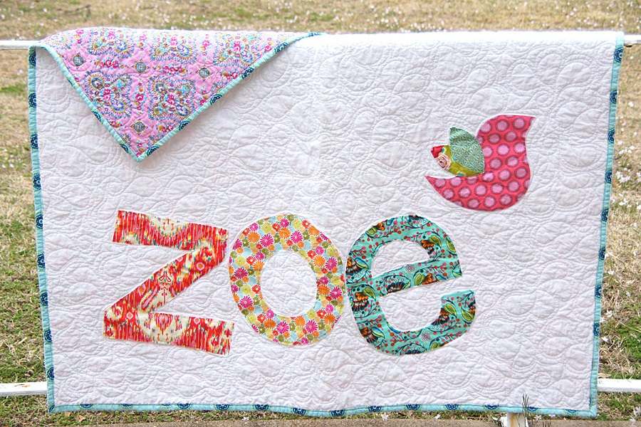 Personalized Baby Quilts Style