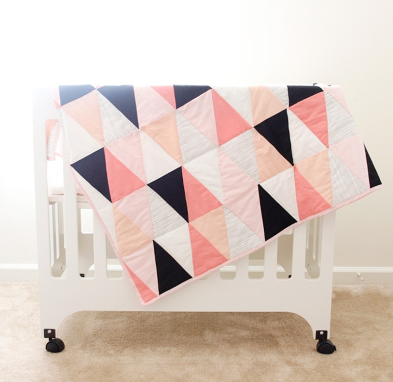 Image of: Pictures Modern Baby Quilt Patterns