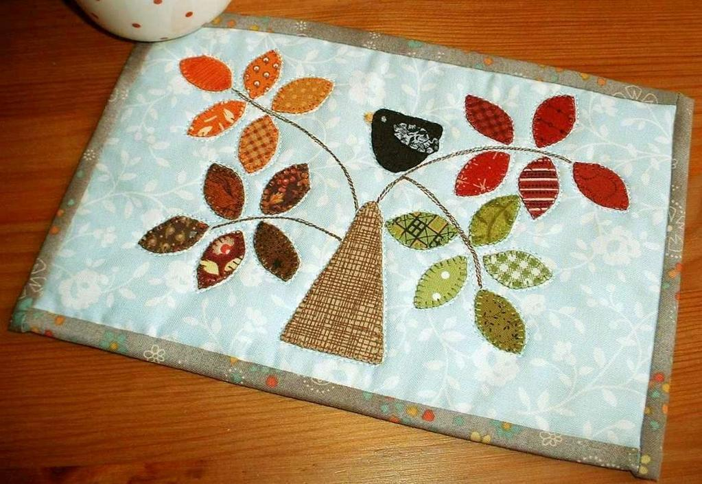 Image of: Pieced Tree Quilt Patterns