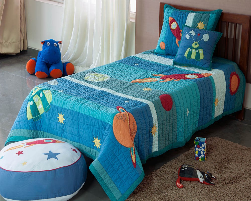 Planet Applique Baby Quilt Patterns