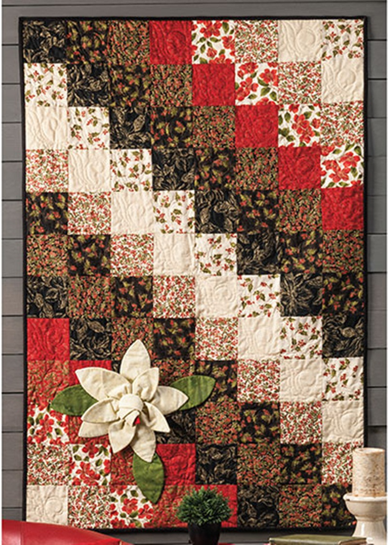 Pretty Christmas Quilt Patterns