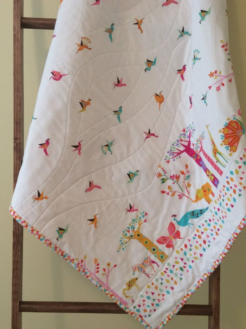 Picture of: Pretty Homemade Baby Quilts