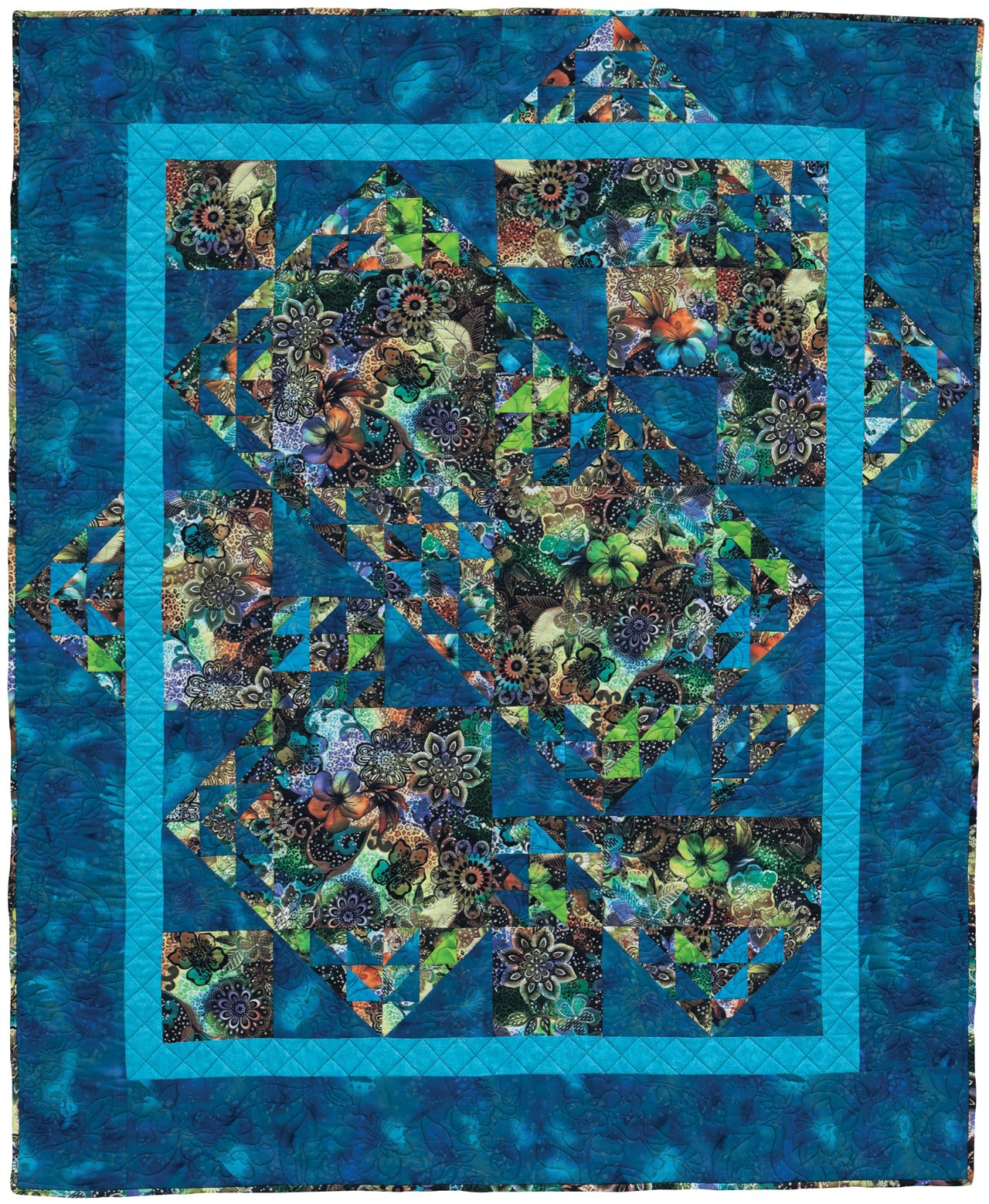 Image of: Printed Patchwork Quilt Patterns