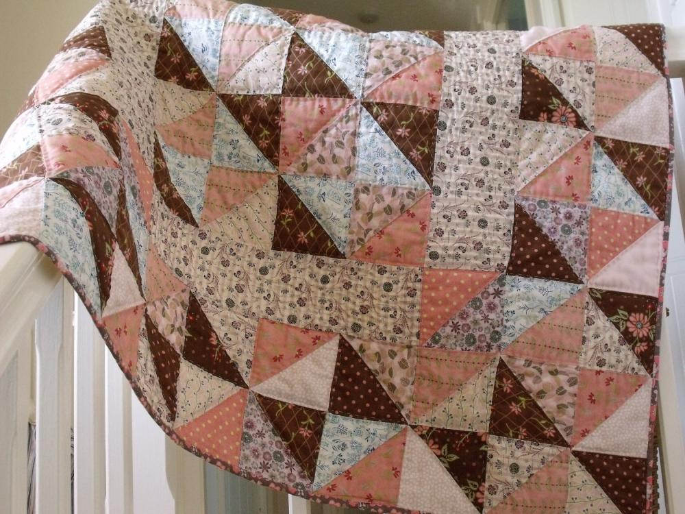 Image of: Product Baby Patchwork Quilt