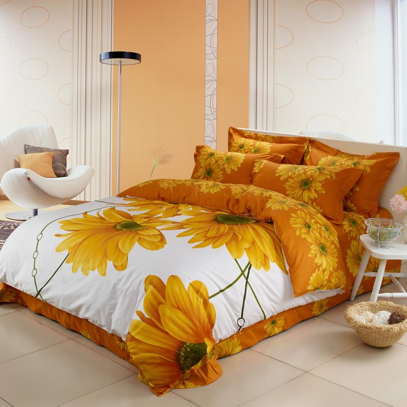 Picture of: Queen Sunflower Quilt Pattern
