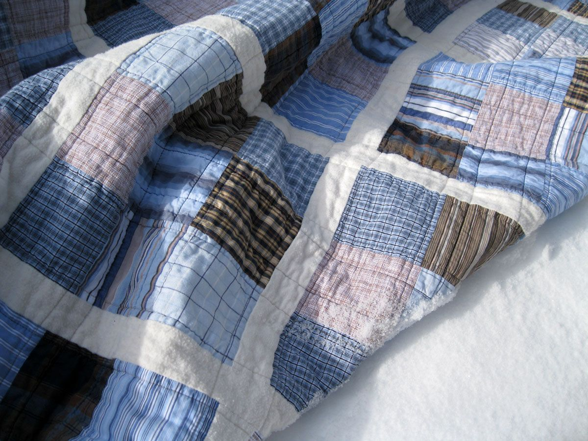 Image of: Quilt Patterns for Men Ideas