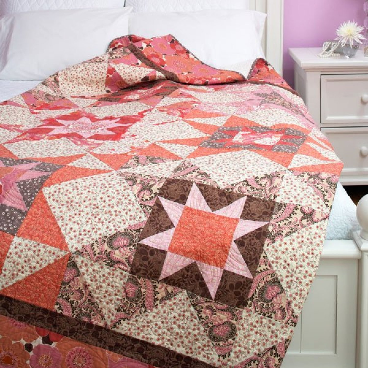 Image of: Quilt Square Patterns Trend