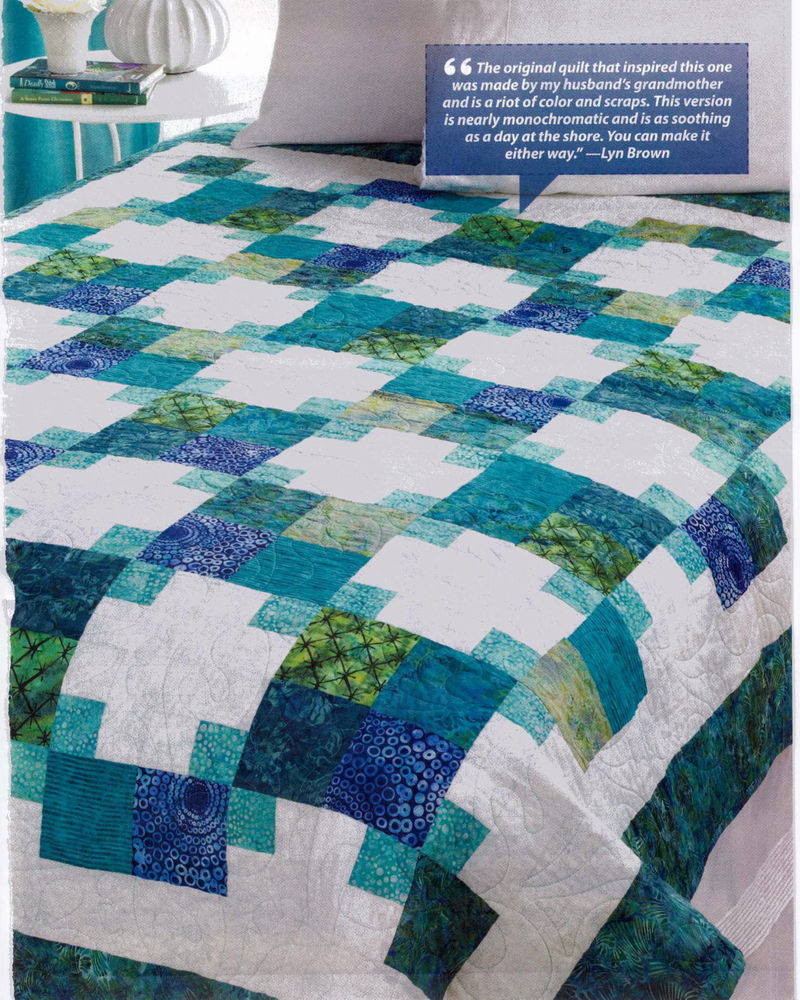 Image of: Quilt Square Patterns and Color