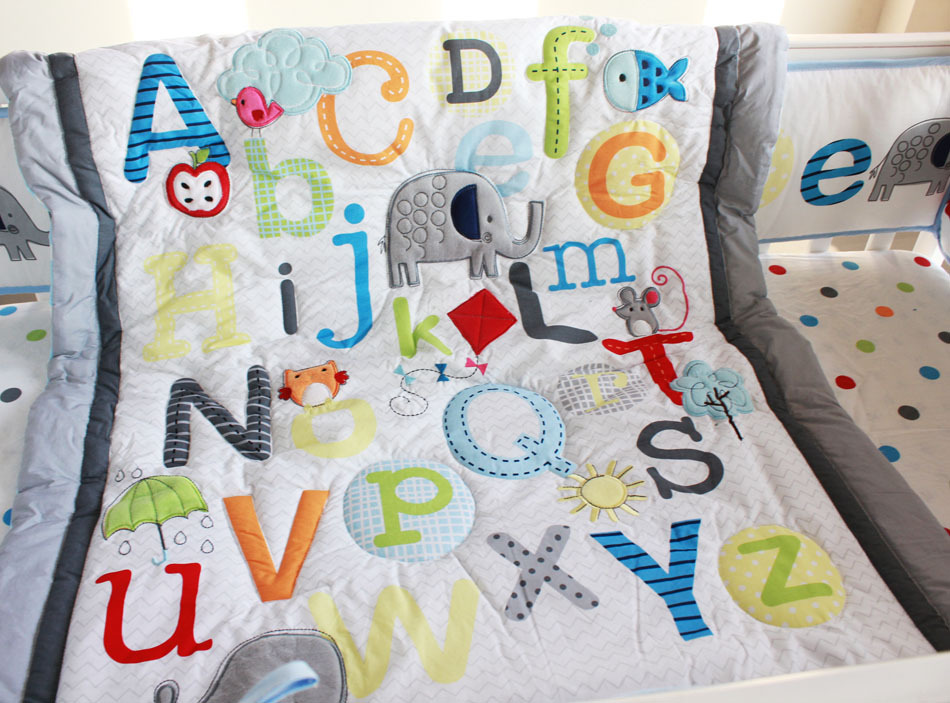 Image of: Quilted Baby Blanket Sleep