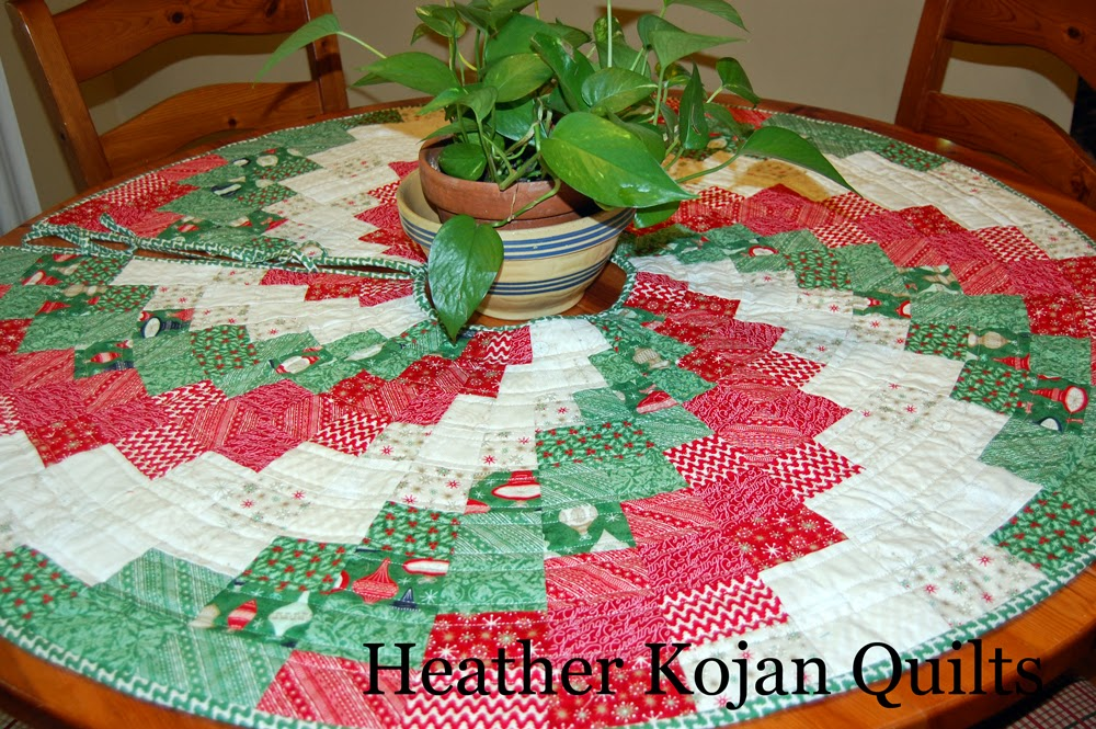 Image of: Quilted Tree Skirt Pattern Large
