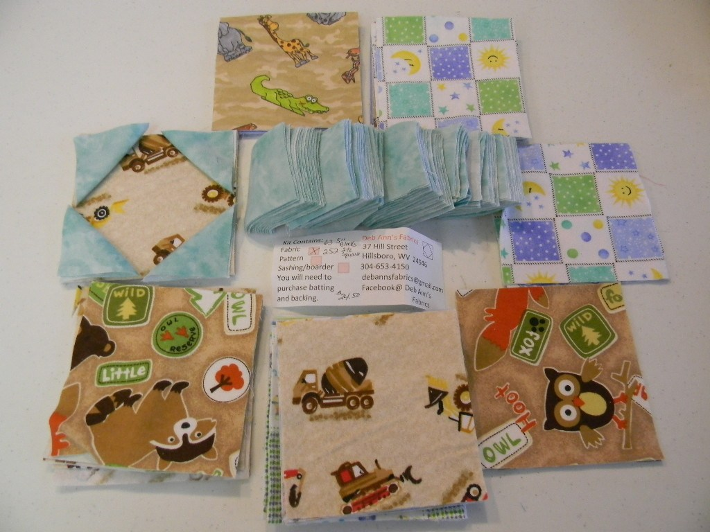 Image of: Remodel Baby Boy Quilt Kits