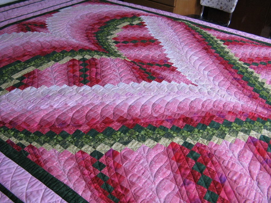 Image of: Remodel Bargello Quilt Pattern