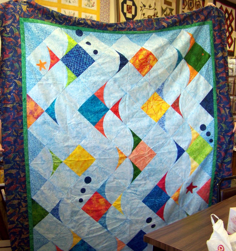 Picture of: Resolutions Fish Quilt Pattern