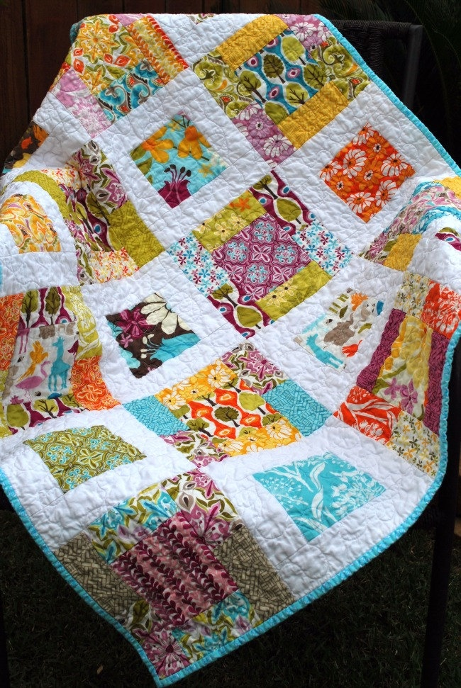 Image of: Review Baby Patchwork Quilt