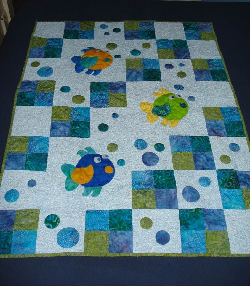 Picture of: Review Fish Quilt Pattern