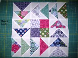 Sew A Flying Geese Quilt Pattern