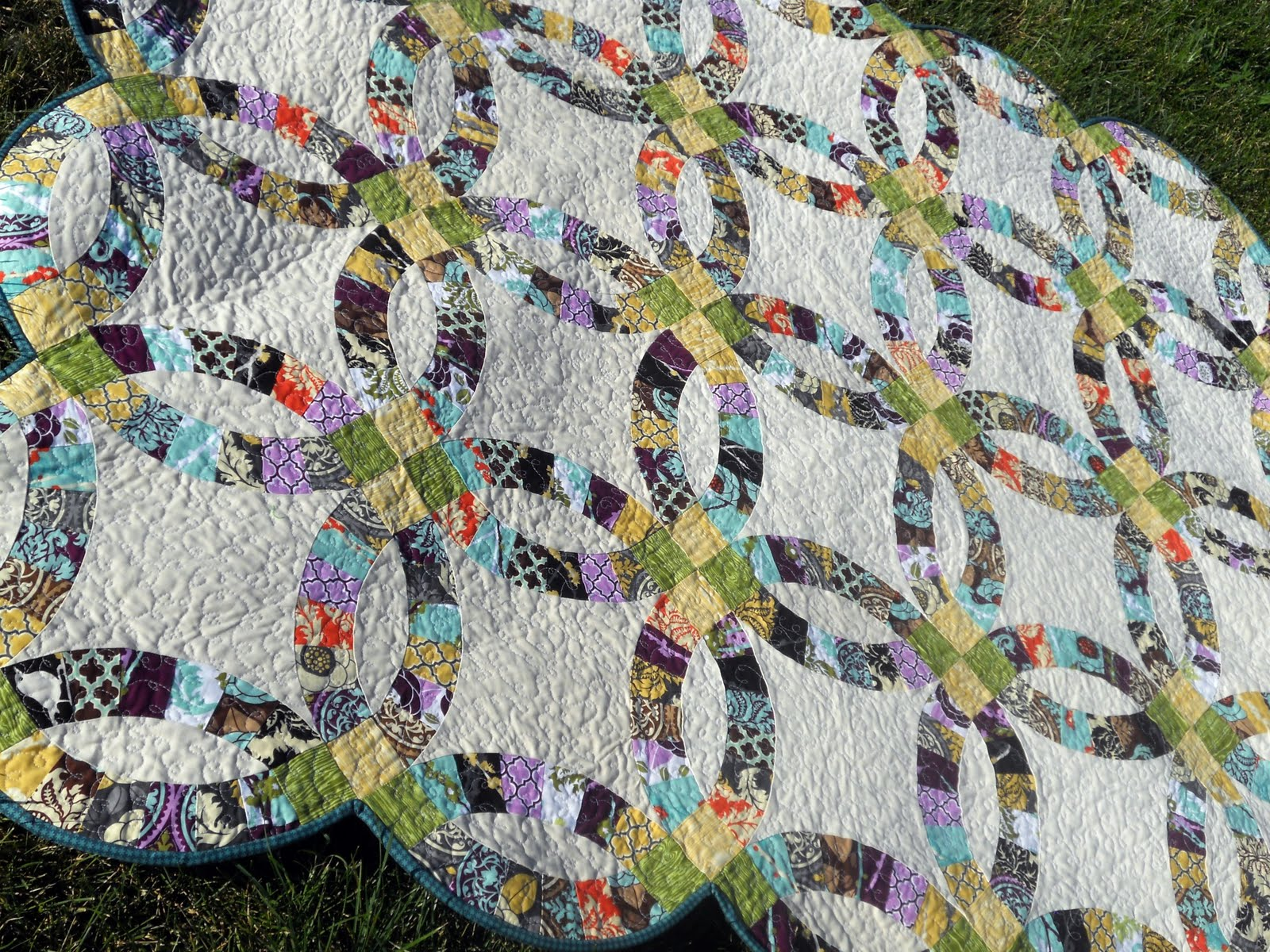 Sew Double Wedding Ring Quilt Pattern