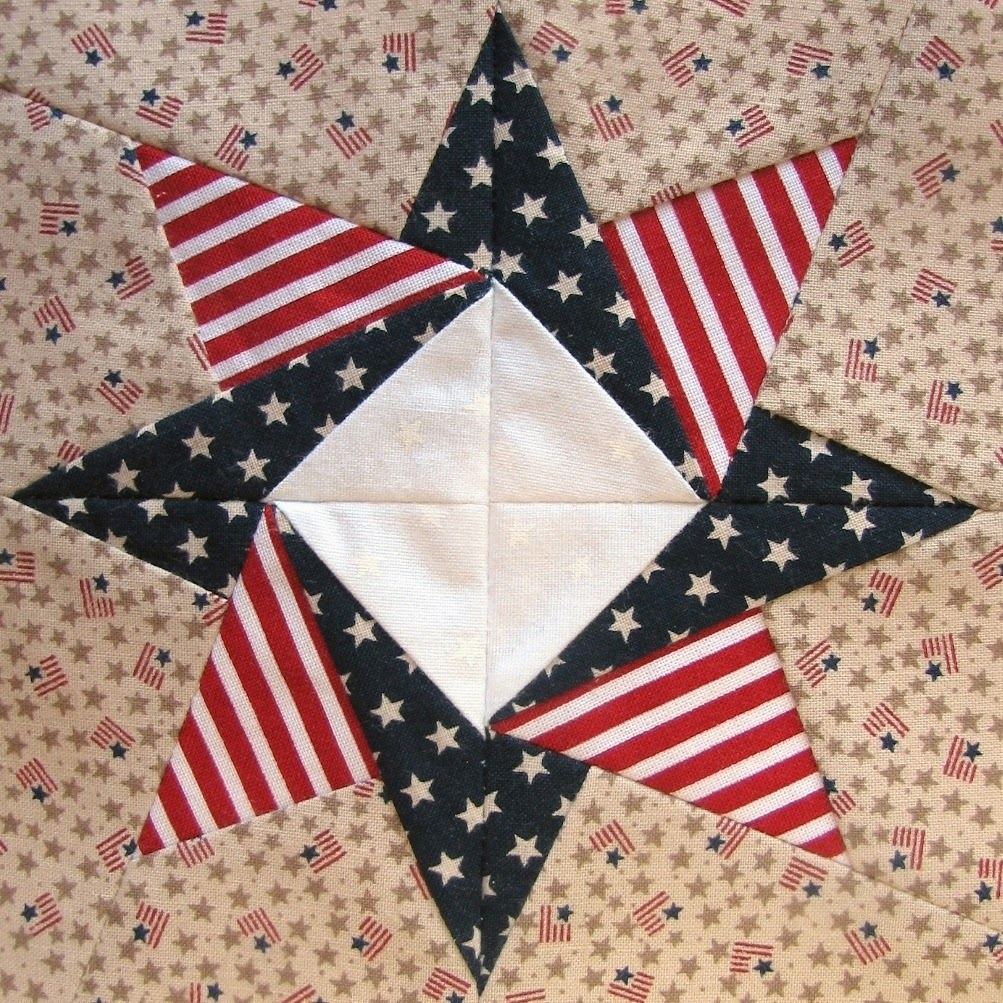 Image of: Sew Patriotic Quilt Patterns