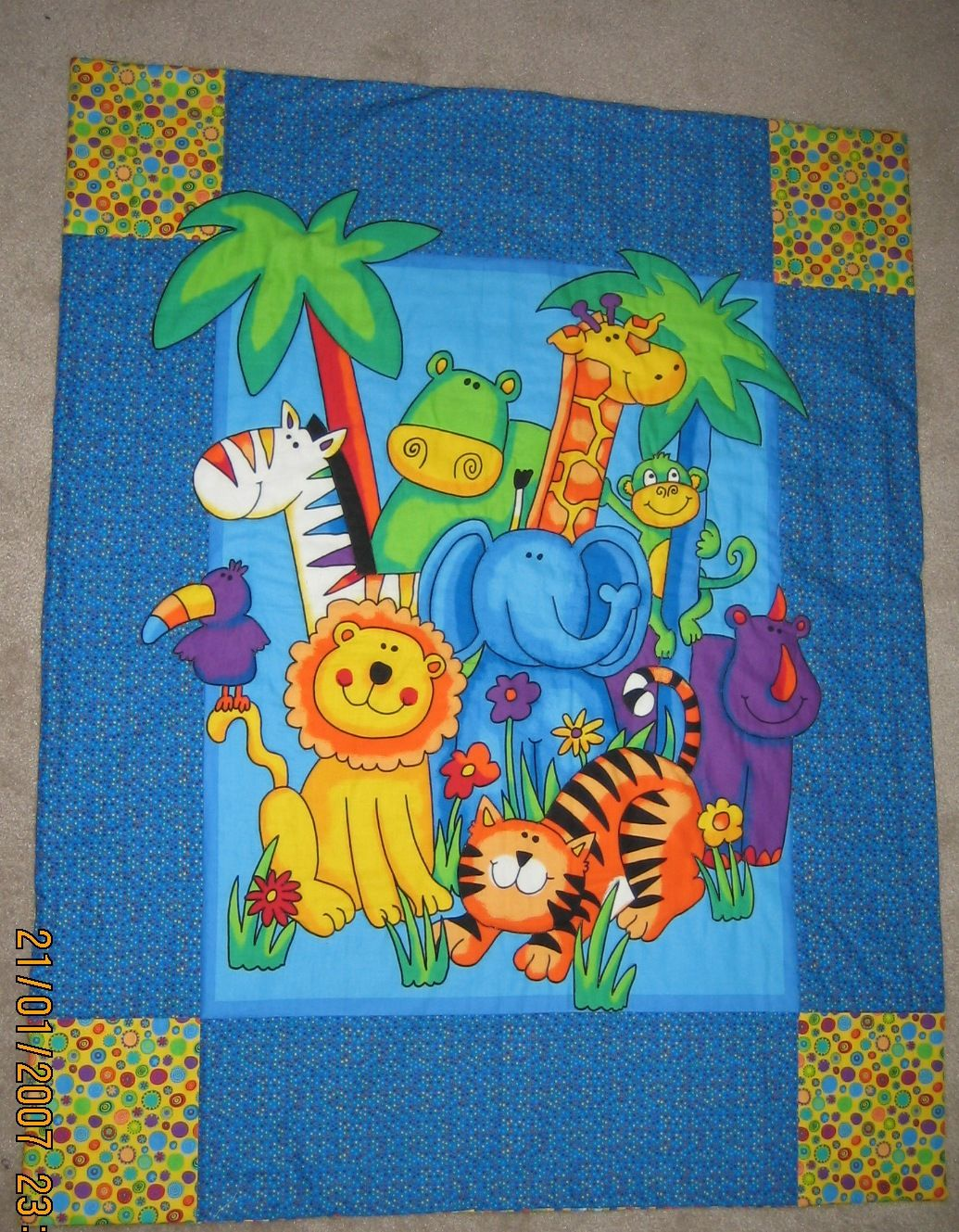 Picture of: Sewing Baby Quilt Panels
