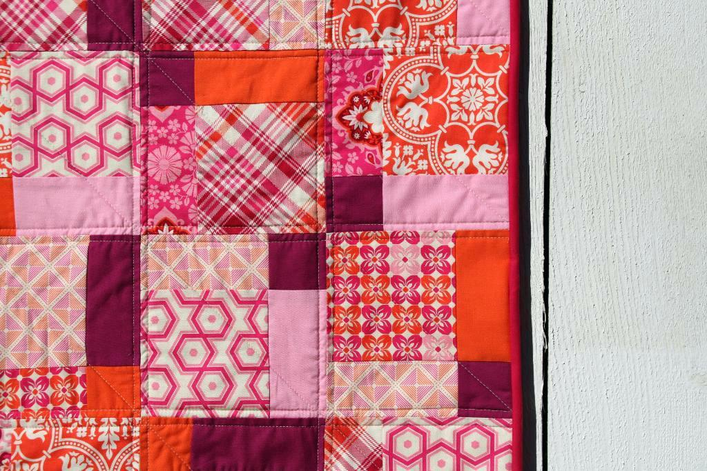 Simple Baby Girl Quilts