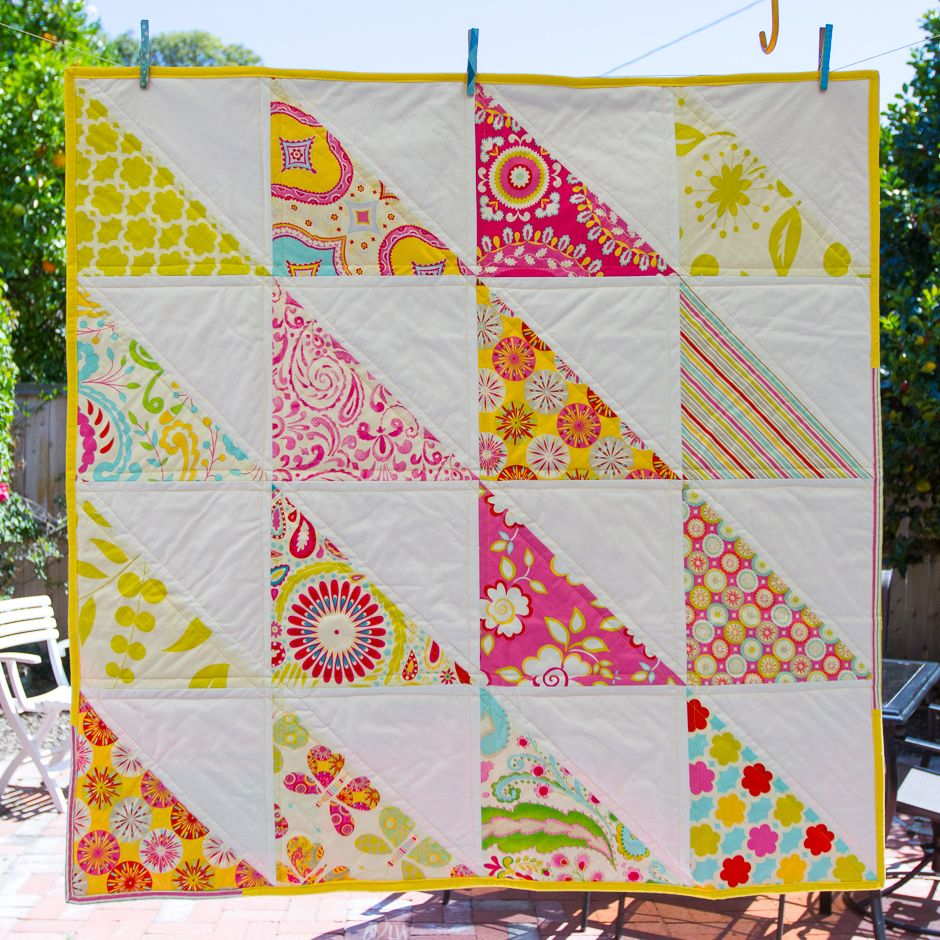 Picture of: Simple Baby Quilt Design