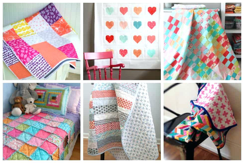 Simple Charm Pack Baby Quilt