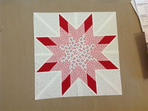 Image of: Simple Lone Star Quilt Pattern
