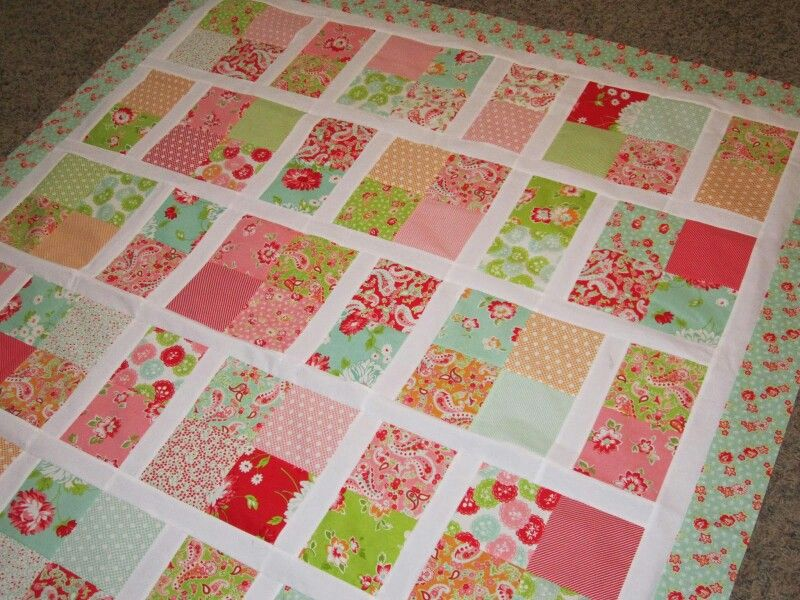Picture of: Simple Quilt Patterns Fabric