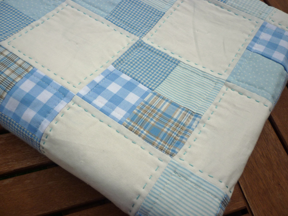 Image of: Simple Quilt Patterns for Beginners