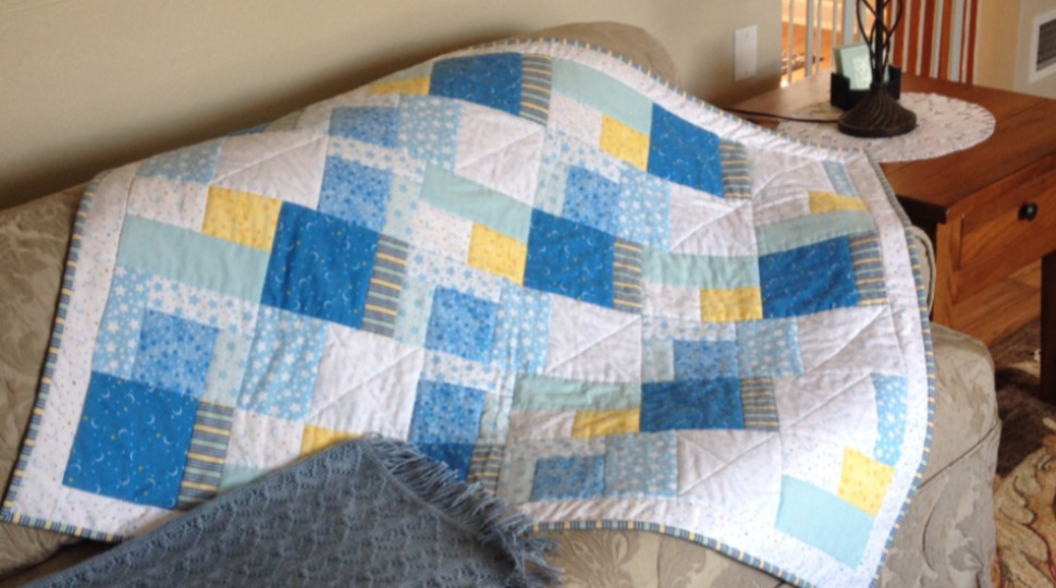 Image of: Small Baby Patchwork Quilt
