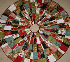 Small Quilted Tree Skirt Pattern