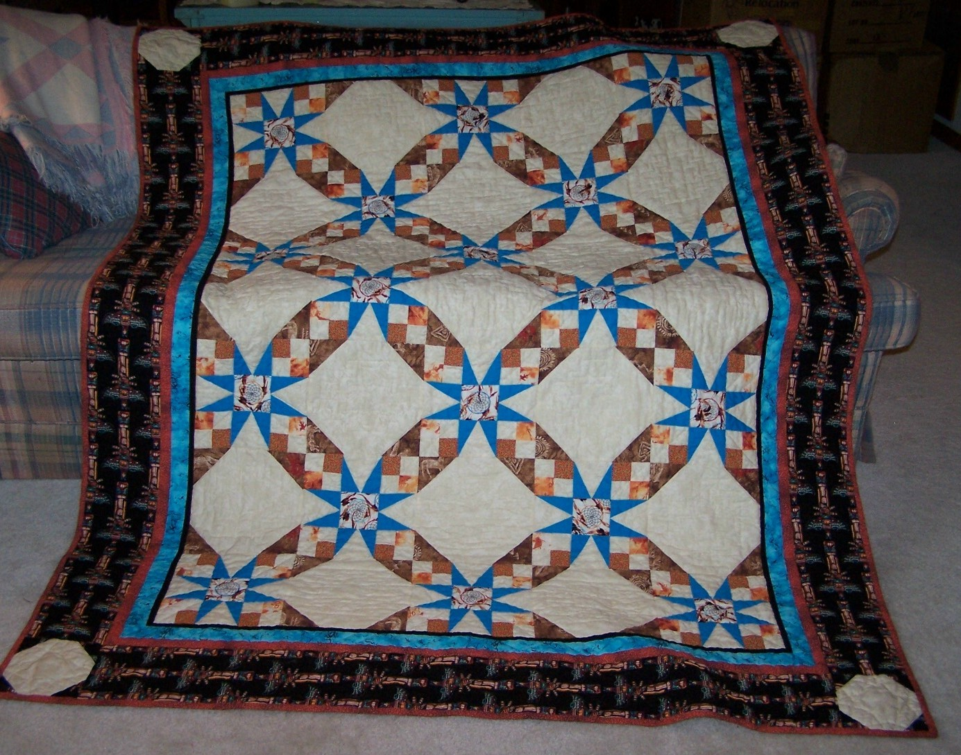 Image of: Southwest Quilt Patterns Best
