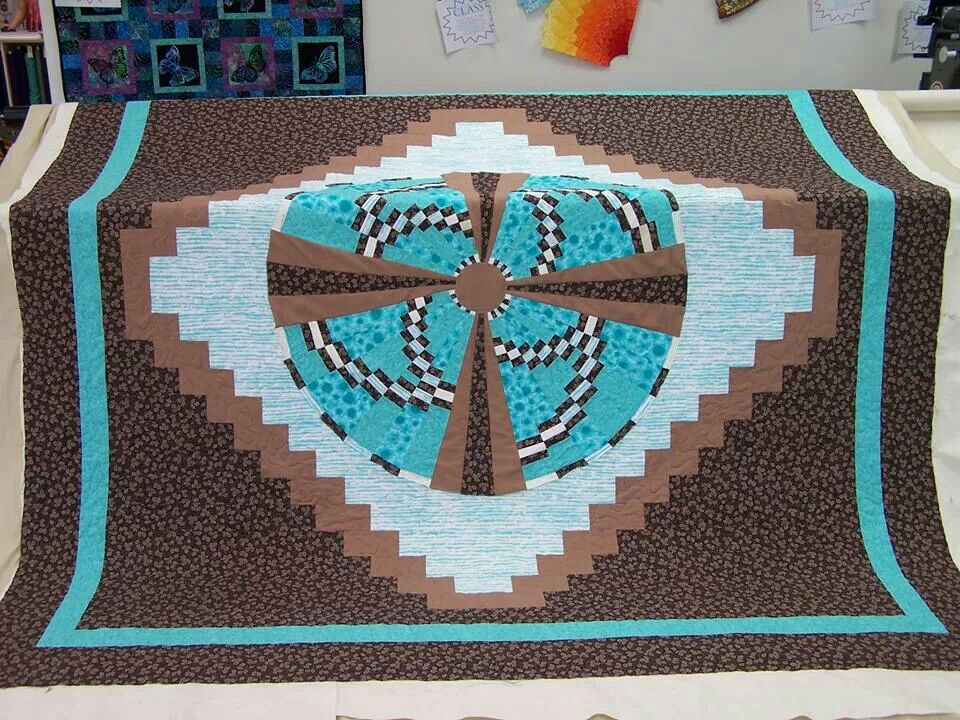 Image of: Southwest Quilt Patterns Decorative