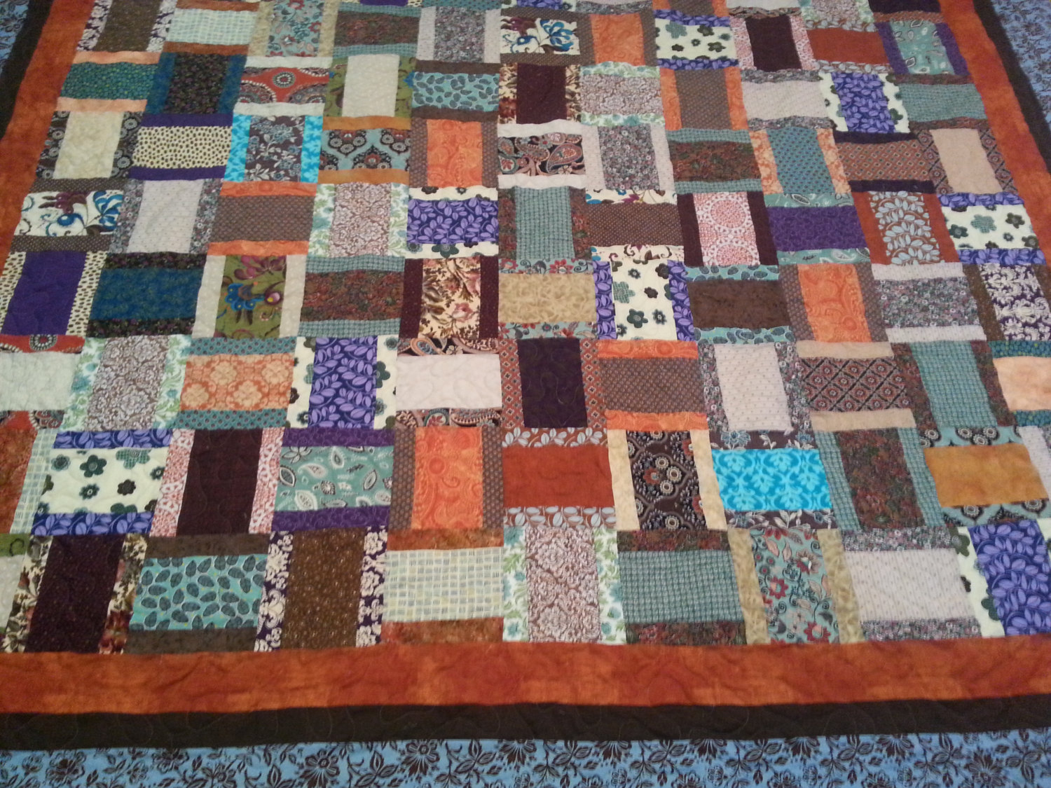 Image of: Southwest Quilt Patterns King Size