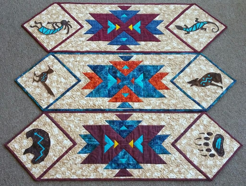 Southwest Quilt Patterns Shaped