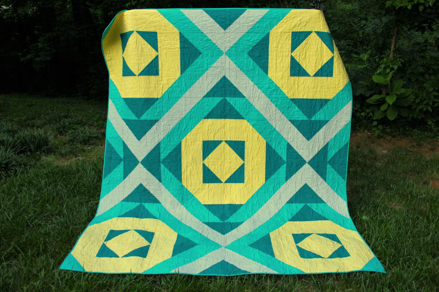 Image of: Southwest Quilt Patterns Simple
