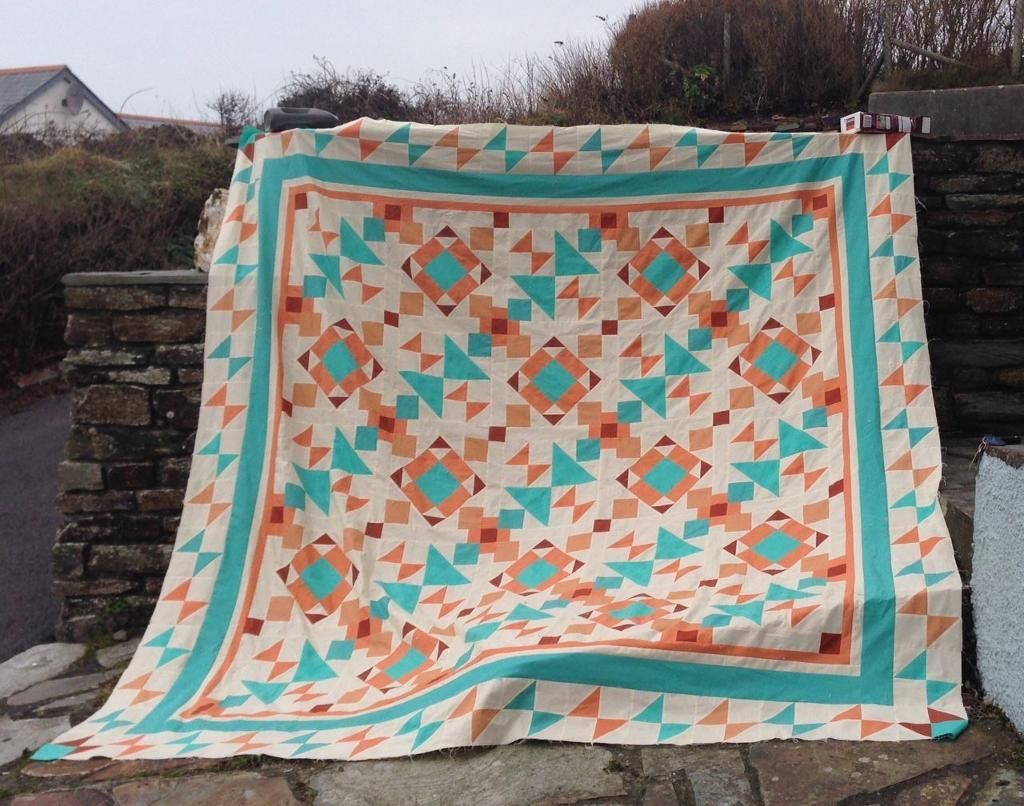 Image of: Southwest Quilt Patterns Style