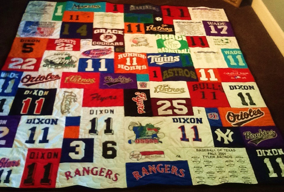 Image of: Sport T Shirt Quilt Pattern
