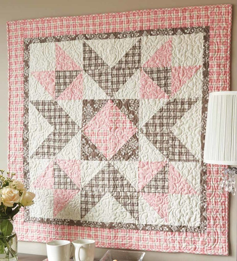Image of: Square Baby Patchwork Quilt