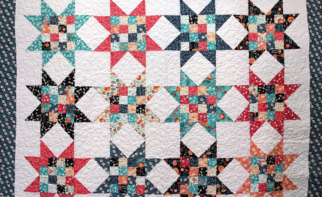 Image of: Star Quilt Pattern Tutorial