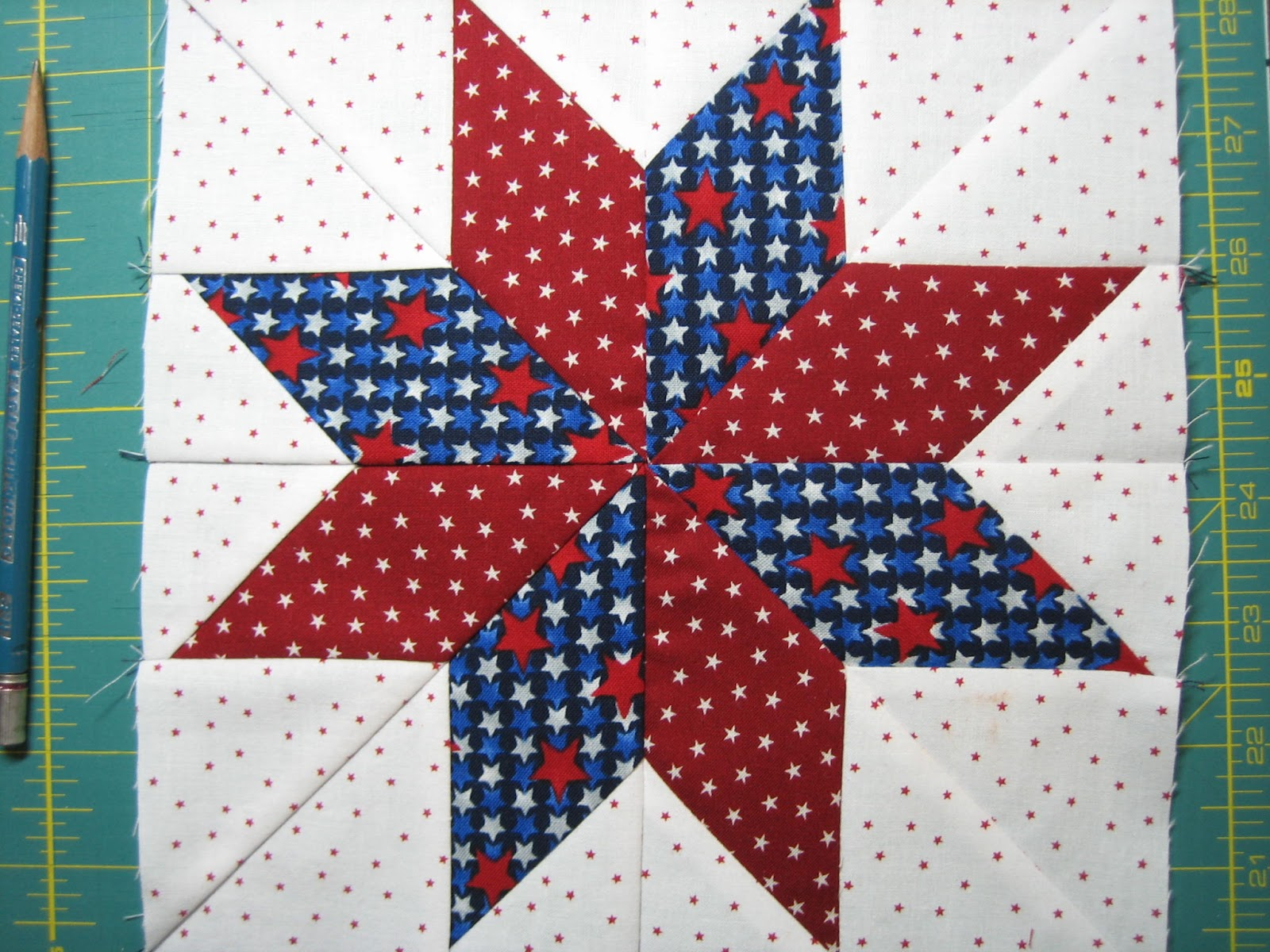 Image of: Star Quilt Pattern for Baby
