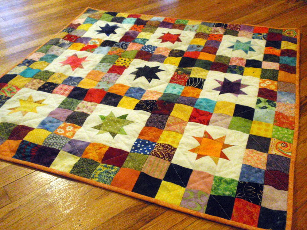 Starry Baby Quilt Designs