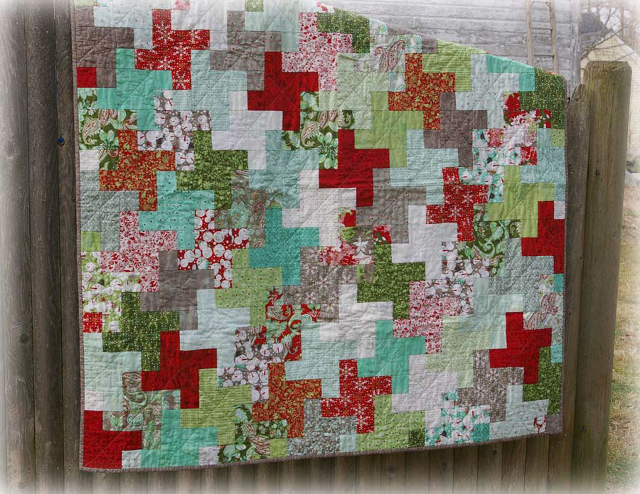 Image of: Stylish Quilt Patterns for Beginners